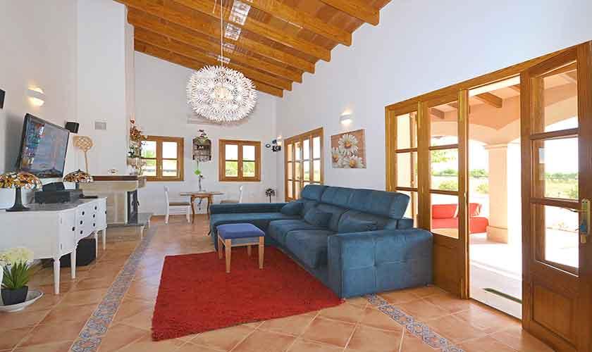 Wohnraum Finca Mallorca Campos PM 6920