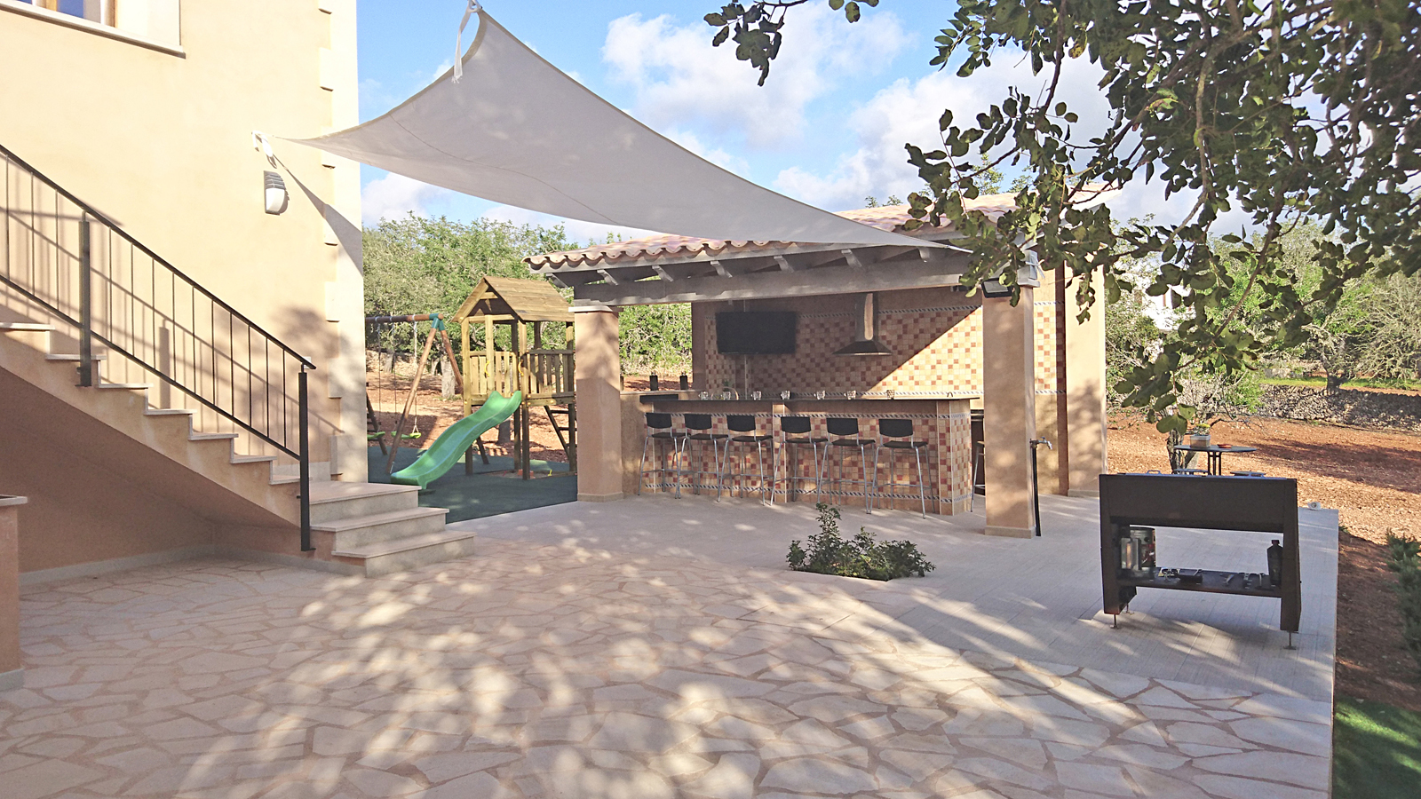 Außenküche und Bar Finca Mallorca PM 6140
