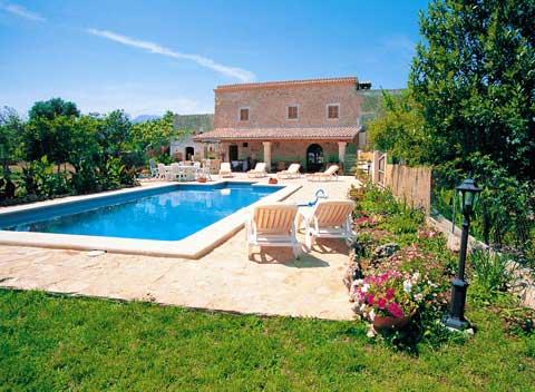 Pool Große Finca Mallorca für 14 Personen PM 325