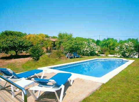 Poolblick Finca Mallorca 2-4 Personen PM 564