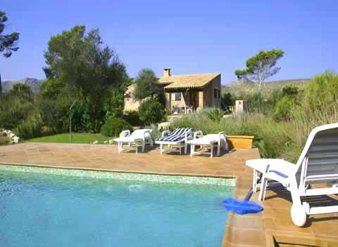 Pool und kleine Finca Mallorca 2 - 4 Personen PM 541