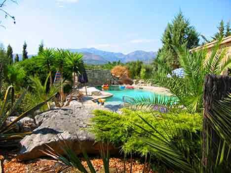 Pool der großen Finca Mallorca 12, 14, 16, 18, 20 Personen PM 336