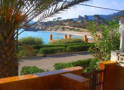 Meerblick Ferienhaus Cala Ratjada Mallorca am Strand Son Moll PM 547