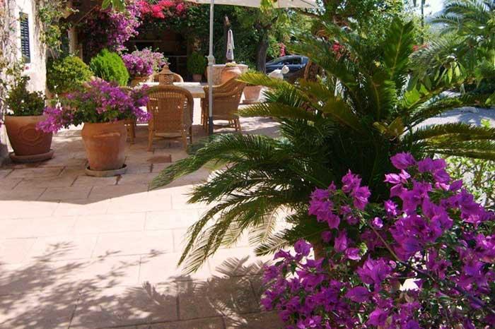 Terrasse Exklusive Finca Mallorca Südwesten PM 120