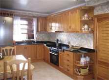 Küche Finca Mallorca mit Pool PM 410