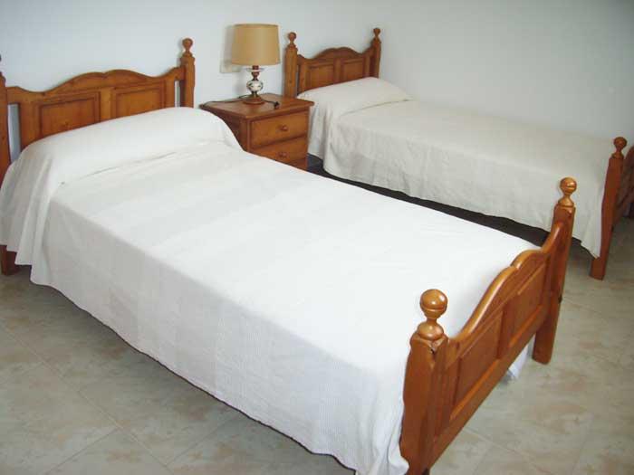 Schlafzimmer Finca Mallorca mit Pool PM 410