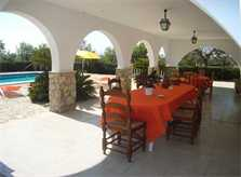 Terrasse 2 Finca Mallorca mit Pool PM 410