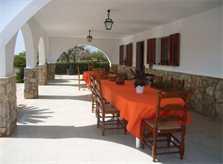 Terrasse Finca Mallorca mit Pool PM 410