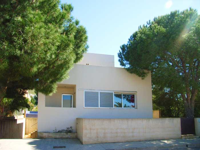 Blick auf das Ferienhaus Mallorca mit Pool für 4 Personen PM 446