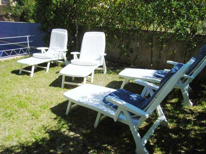 Garten Ferienhaus Mallorca mit Pool für 4 Personen PM 446