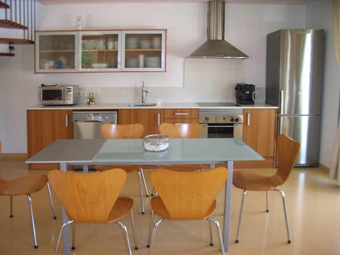 Moderne Küche Ferienhaus Mallorca mit Pool PM 446