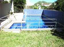 Umzäunter Pool Ferienhaus Mallorca 4 Personen PM 446