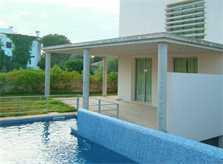 Umzäunter Pool Ferienhaus Mallorca PM 446