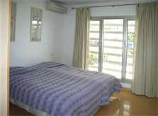 Schlafzimmer Ferienhaus Mallorca mit Pool PM 446
