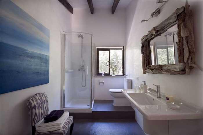 Badezimmer Finca Mallorca mit Pool PM 558