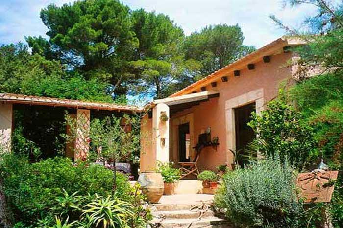 Front Finca Mallorca mit Pool PM 558