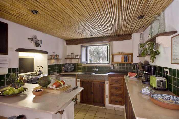 Küche Finca Mallorca mit Pool PM 558