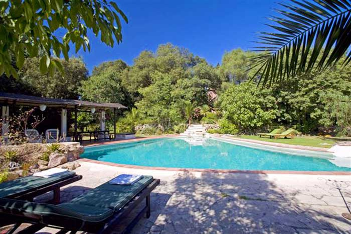 Großer Pool Finca Mallorca PM 558