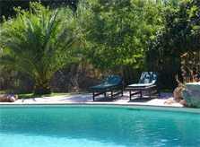 Pool und Liegen Finca Mallorca mit Pool PM 558