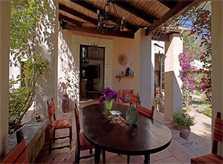 Terrasse Finca Mallorca mit Pool PM 558