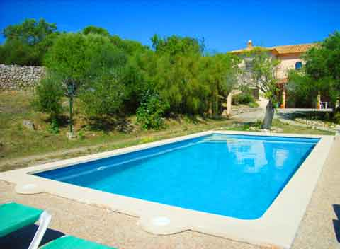 Poolblick Finca Arta Mallorca 10 Personen PM 5591