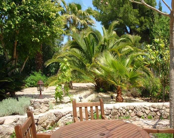 Garten 2 Finca Arta Mallorca 10 Personen PM 574