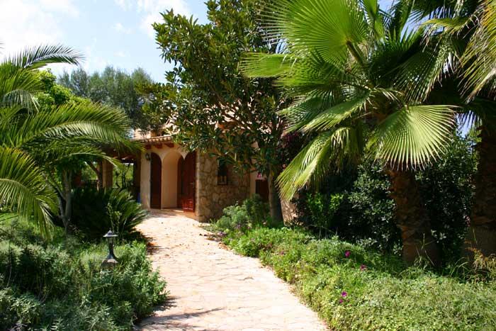 Gartenblick 3 Finca Arta Mallorca 10 Personen PM 574
