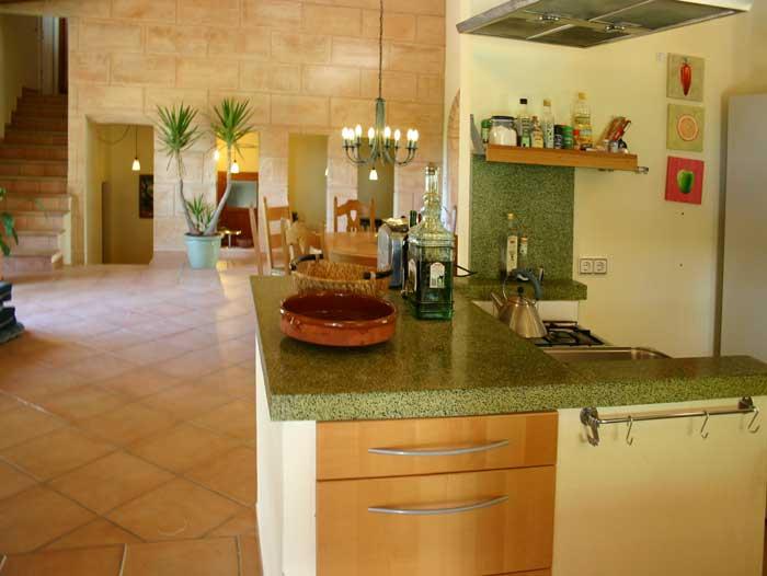 offene Küche Finca Arta Mallorca 10 Personen PM 574