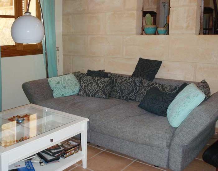 Sofa Finca Mallorca großer Pool PM 574 bei Arta