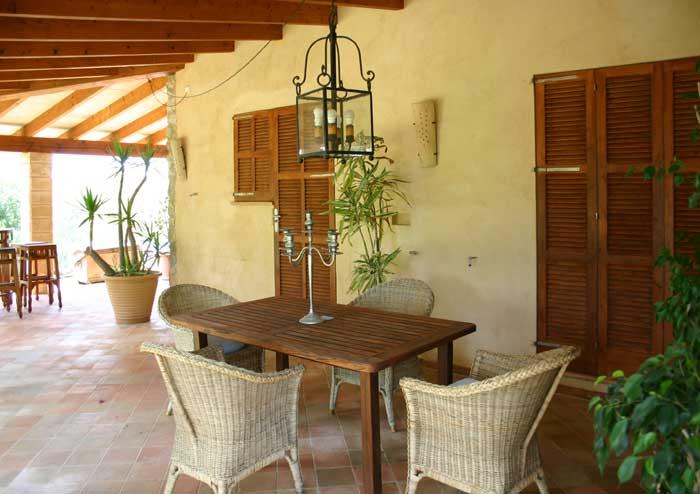 Terrasse 6 Finca Arta Mallorca 10 Personen PM 574