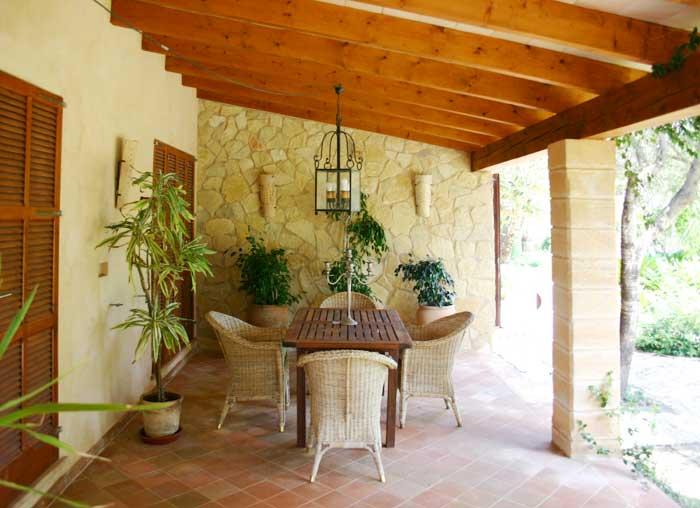 Terrasse 7 Finca Arta Mallorca 10 Personen PM 574