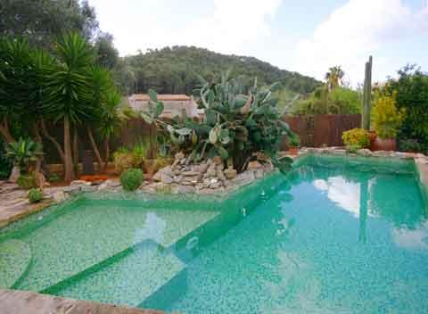 Pool Finca Mallorca S Arraco 2 - 3 Personen PM 1011