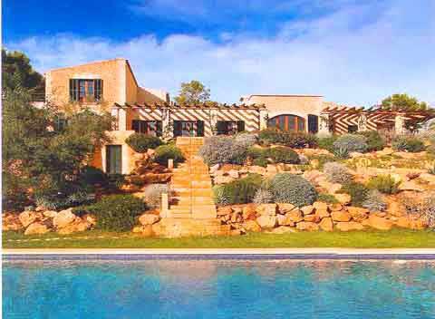 Pool Luxus Finca Mallorca Andratx 8 - 12 Personen PM 105