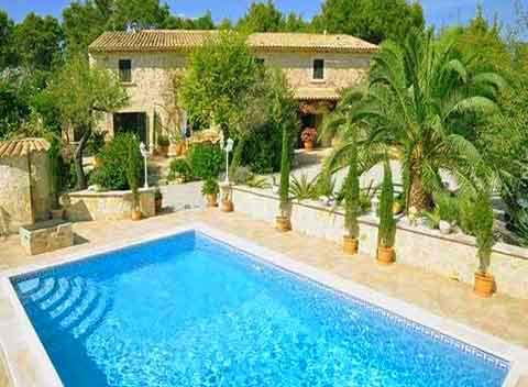 Pool Exklusive Finca Mallorca 6 Personen PM 120