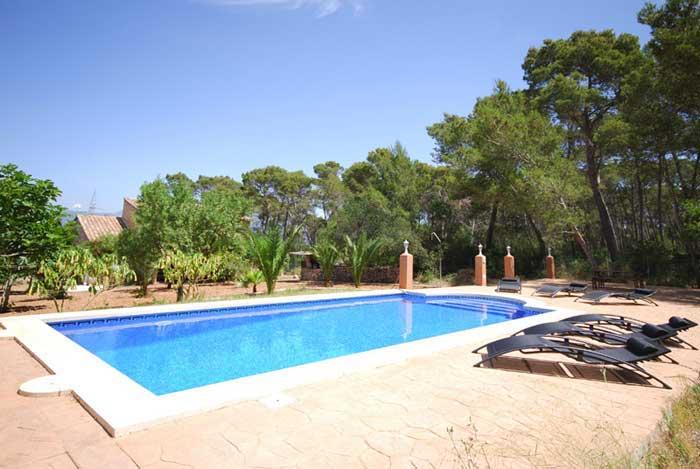 Poolblick Finca Mallorca 8 Personen PM 135