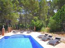 Poolblick 2 Finca Mallorca Südwesten für 8 Personen PM 135
