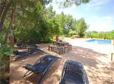 Poolblick 3 Finca Mallorca 8 Personen PM 135