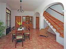 Halle und Treppe Finca Mallorca mit Pool für 8 Personen PM 135