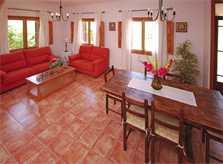 Wohnraum 2 Finca Mallorca mit Pool für 8 Personen PM 135