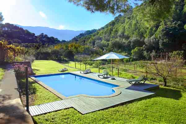Pool der Finca PM 225 in Port de Soller
