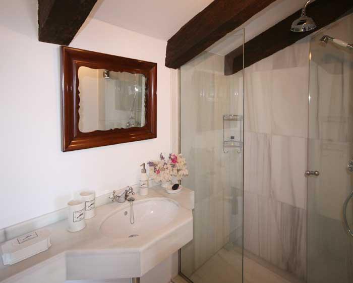 Bad mit begehbarer Dusche Exklusive Finca Mallorca PM 233