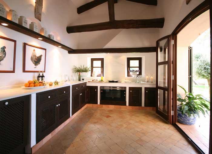 Moderne Küche Exklusive Finca Mallorca PM 233