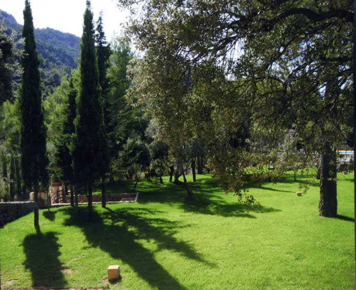 Garten mit Rasenfläche Finca Mallorca PM 233
