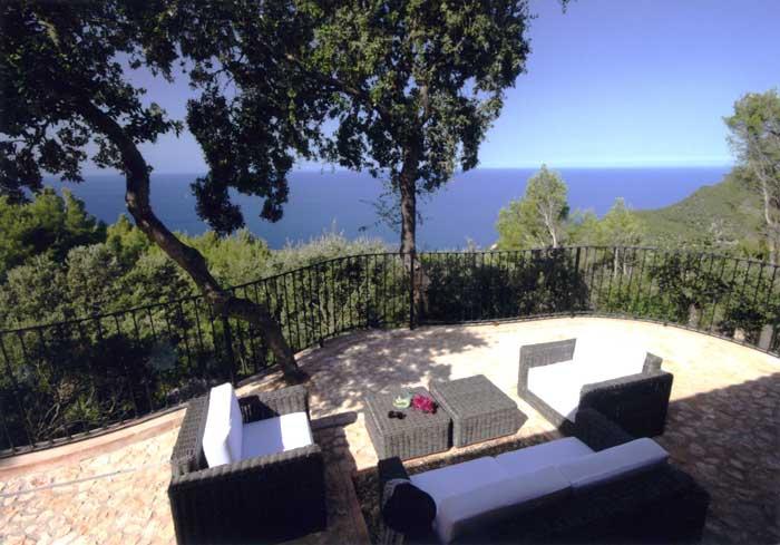 Blick auf das Meer Exklusive Finca Mallorca PM 233