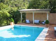 Pool mit überdachter Terrasse Exklusive Finca Banyalfubar PM 233