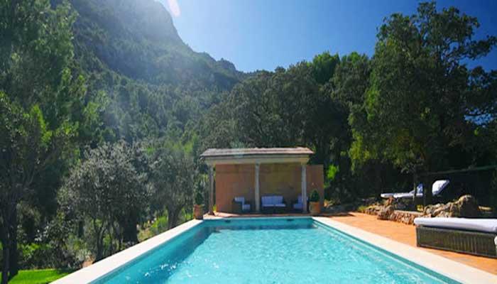 Großer Pool Exklusive Finca Mallorca PM 233