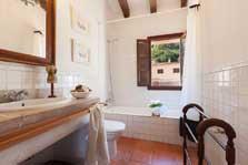 Bad 2 Finca Mallorca mit Pool für 8 Personen PM 3023