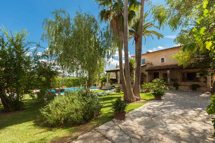 Garten und Finca Mallorca mit Pool für 8 Personen PM 3023