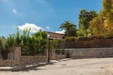 Garten Finca Mallorca mit Pool für 8 Personen PM 3023