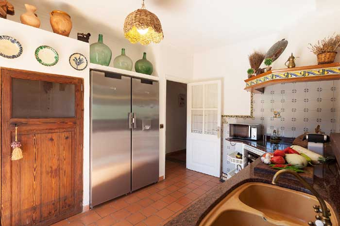 Küche Finca Mallorca mit Pool für 8 Personen PM 3023